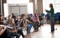 London Philharmonic Orchestra  Animate  Charter School, London SE24  Caz Vale/LPO
