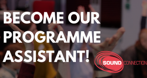 BECOME OUR PROGRAMME ASSISTANT!