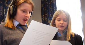 Chelsea and Nicole singing