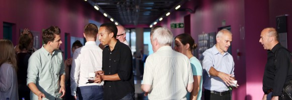 networking at a conference