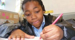 Jamel writing lyrics