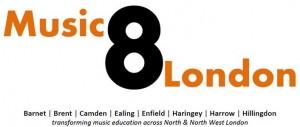Music8London Logo