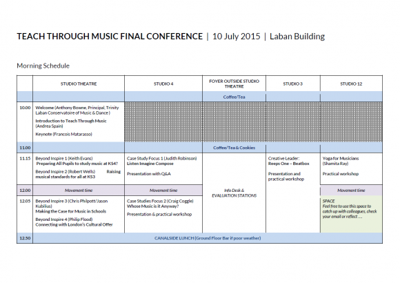 final schedule 1