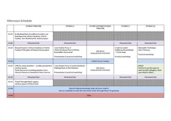 final schedule 2